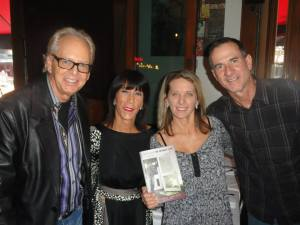 Jimmy Rock (Ingrid's husband), Ingrid Croce, me, Tony